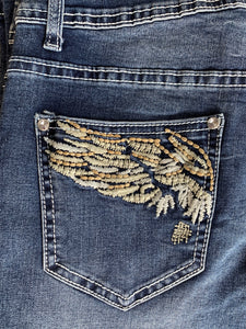 Womens Outback Wild Child Angel Wing Jean
