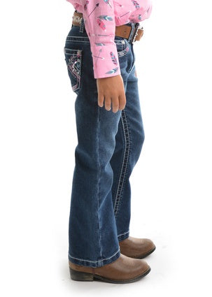Girls Pure Western Holly Bootcut Jean