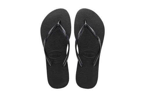 Havaiana Slim Black
