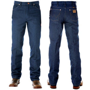 Mens Wrangler Cowboy Cut Slim Rigid Jean