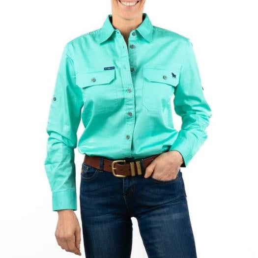 Womens Ringers Western The Pentecost River Full Button Workshirt