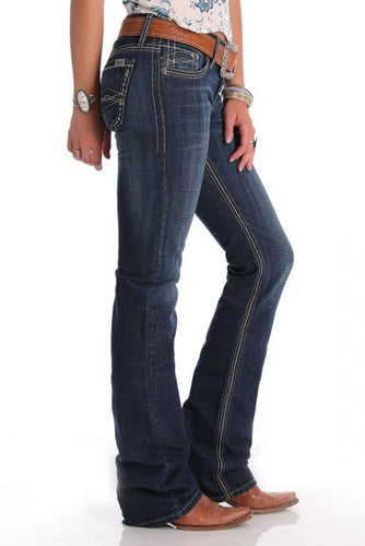 Womens Cruel Girl Abby June Mid rise Jean W20