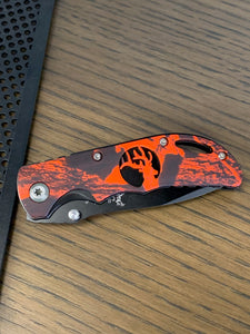 Elk Ridge Knife- Red/Orange