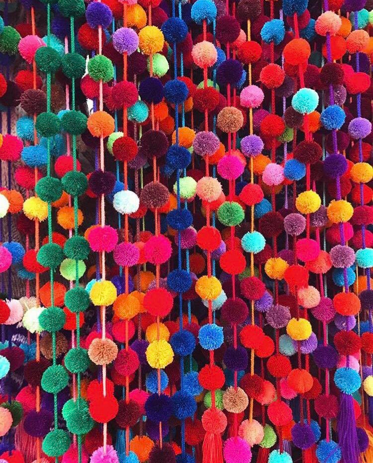 My Love for San Juan Chamula Pompoms.