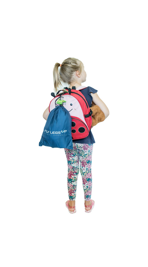 Fly LegsUp for Kids carry bag.