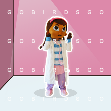High Quality Costume Doc Mascot Costume Dottie Mcstuffins Costumes Character Docter