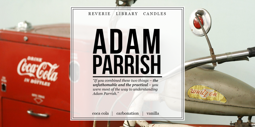 Adam Parrish ~ The Raven Cycle ~ Soy Candle for Bibliophiles