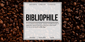 Bibliophile ~ Soy Candle for Bibliophiles