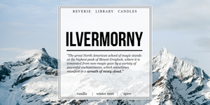 Ilvermorny ~ Fantastic Beasts ~ Soy Candle for Bibliophiles