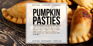 Pumpkin Pasties ~ Harry Potter ~ Soy Candle for Bibliophiles