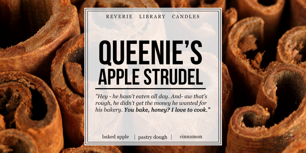 Queenie's Apple Strudel ~ Fantastic Beasts ~ Soy Candle for Bibliophiles
