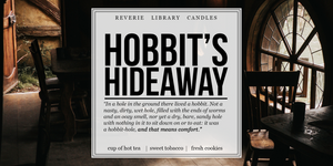 Hobbit's Hideaway ~ Soy Candle for Bibliophiles
