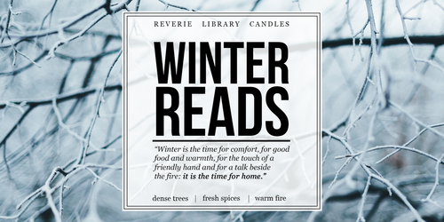 Winter Reads ~ Soy Candle for Bibliophiles