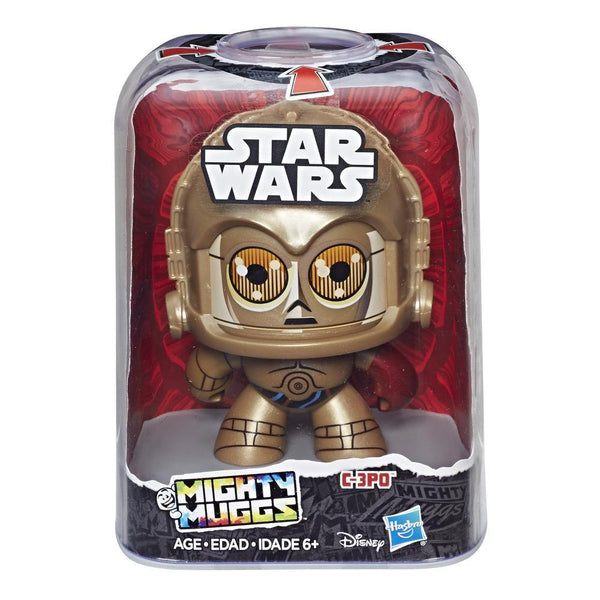 PRE ORDER! Disney Star Wars Mighty Muggs C3PO by Hasbro