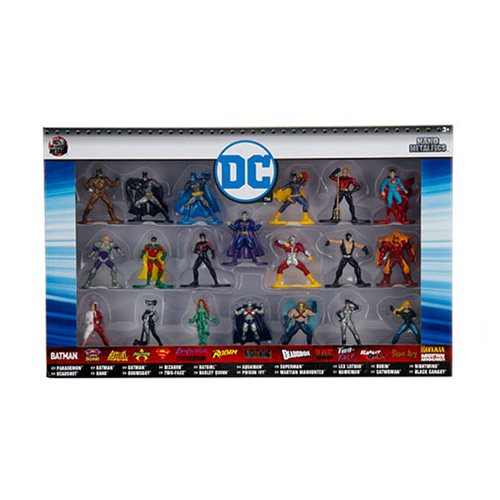 DC Comics Nano Metalfigs Die-Cast Metal Mini-Figures Wave 2 20-Pack - 219 Collectibles