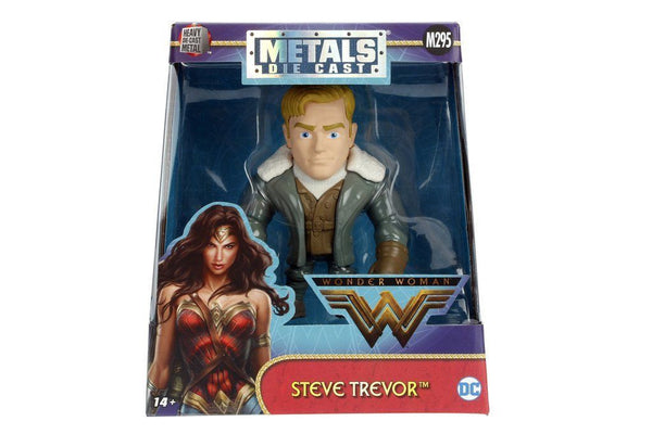 4-Inch Jada Die-Cast Metals Figure Steve Trevor from the Wonder Woman Movie M295 - 219 Collectibles