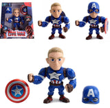 Jada Metals Diecast 6 inch Captain America CIvil War w/ removeable Helmet M56 - 219 Collectibles