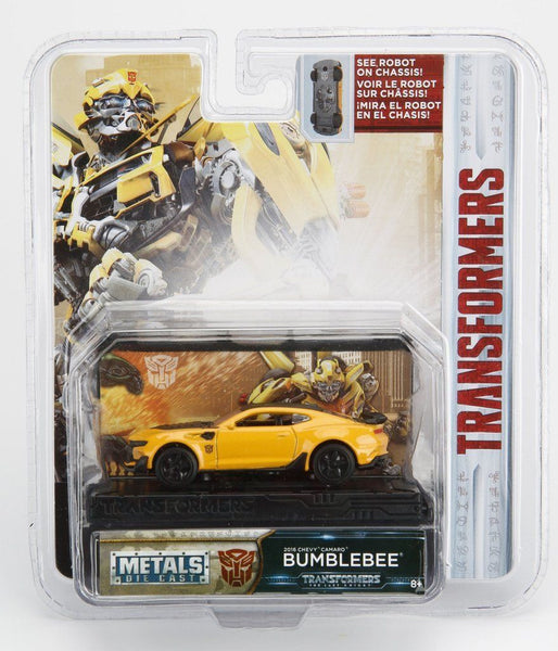IN STOCK! Jada Diecast Metal 1:64 Transformers 5 The Last Knight BUMBLEBEE