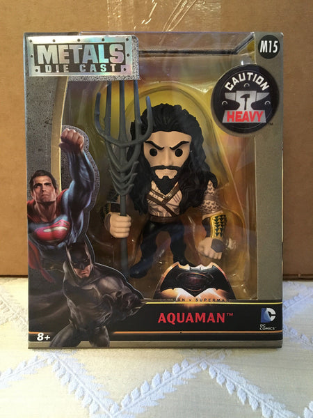 Batman v Superman: Dawn of Justice Aquaman 4-Inch Die-Cast Metals by Jada M15 - 219 Collectibles