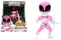 "JADA DIE CAST METALS POWER RANGERS ""PINK RANGER"" 4"" FIGURE NEW PRE ORDER"