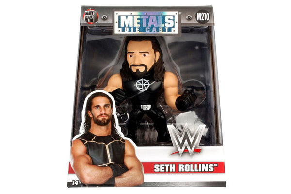 IN STOCK!  4-Inch Jada Die-Cast Metals Figure WWE SETH ROLLINS M210
