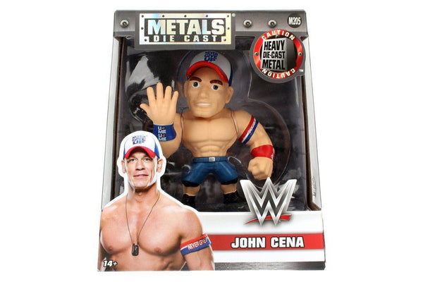 "WWE 4"" Jada Diecast Metals Figure JOHN CENA - 219 Collectibles"