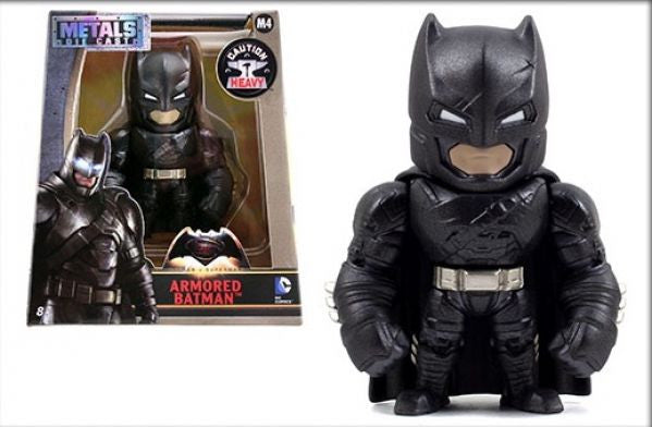 "Batman v Superman Dawn of Justice Batman w/ Armor 4"" Alternate Die-Cast Fig. M4"