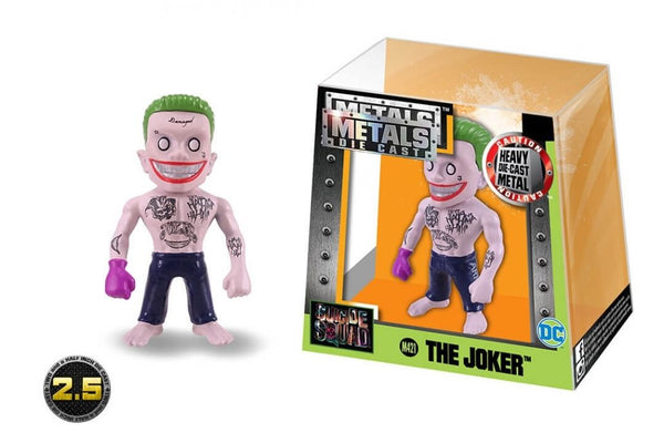 Jada Metals Die Cast Figure Suicide Squad 2.5 inch The Joker M421 - 219 Collectibles