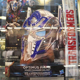 Transformers The Last Knight Optimus Prime Voice Changer Full Size Helmet NIB