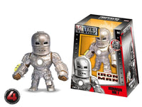 100% DIE CAST METALS 4 INCH IRON MAN MK1 BY JADA TOYS M62 IN STOCK HOT ITEM - 219 Collectibles