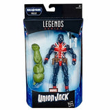 Avengers Marvel Legends 6-Inch Union Jack Action Figure BY HASBRO