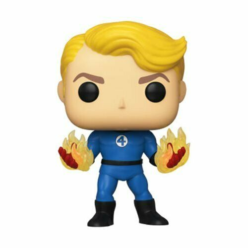 Fantastic Four Human Torch Suited Funko Pop Vinyl Fig Specialty Series