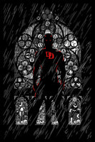 2015 SDCC Exclusive Upper Deck Daredevil Reg. Ed. Poster Print by Chris Thornley