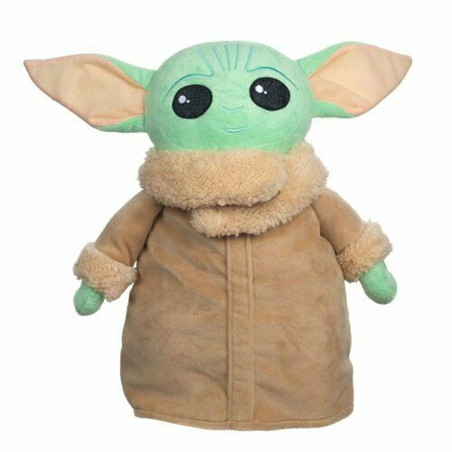 Star Wars The Mandalorian Baby Yoda Child Plush Backpack BY BIOWORLD