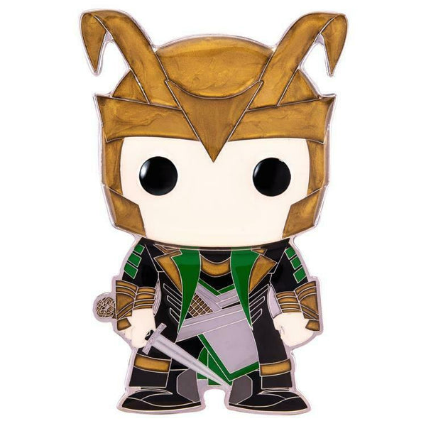 Marvel LOKI Large Enamel Pop! Pin by Funko