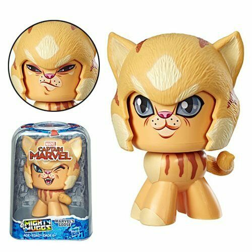 Captain Marvel Mighty Muggs Goose the Cat Action Figure by HASBRO