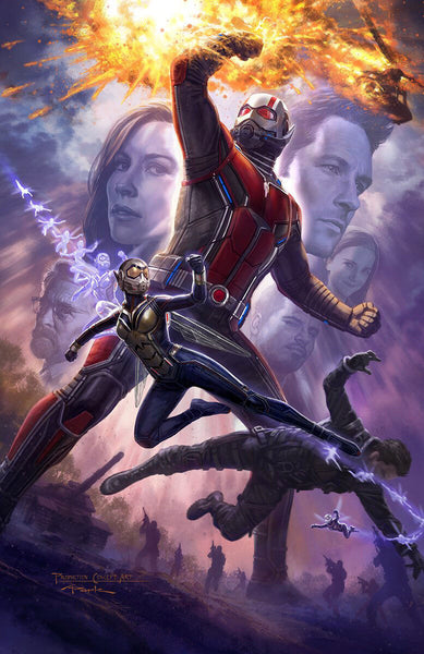 SDCC EXCLUSIVE 2017 Marvel Ant-Man And The Wasp Promo Poster On VHTF
