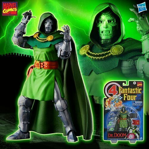 "Fantastic Four Marvel Legends Series 6"" AF Doctor Doom EXCLUSIVE"