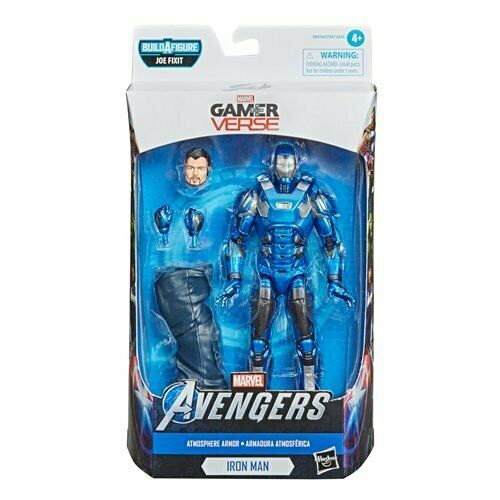 "Avengers Video Game Marvel Legends 6"" AF Atmosphere Iron Man HASBRO"