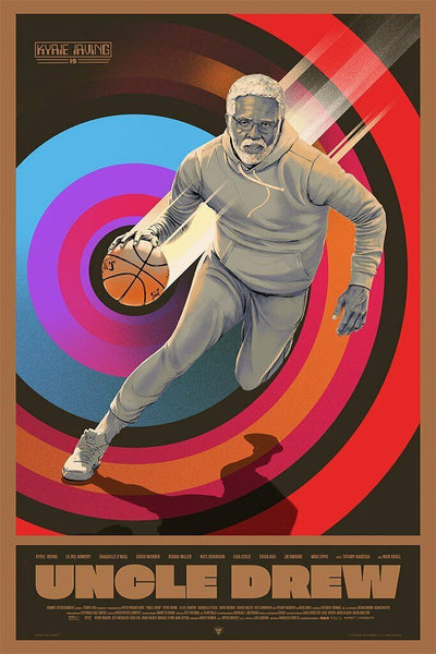 Uncle Drew Movie Poster Art Print By Oliver Barrett Kyrie Irving