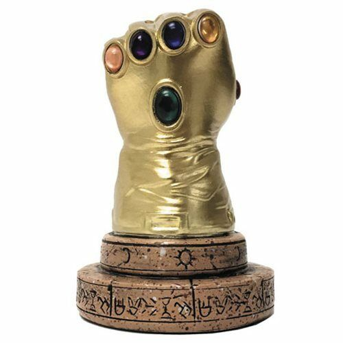 Surreal Entertainment Marvel Comics Infinity Gauntlet Desk Monument PX Exclusive