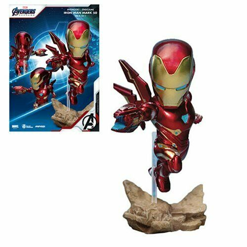 IN STOCK! Avengers: Endgame Iron Man Mark 50 MEA-011 Figure - Previews Exclusive