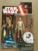 Star Wars The Force Awakens 3 3/4-Inch Action Figure REY (RESISTANCE OUTFIT)