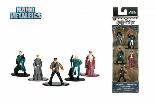 "HARRY POTTER Nano Metalfigs Die-Cast Mini-Figures 5-Pack PACKAGE ""B"""