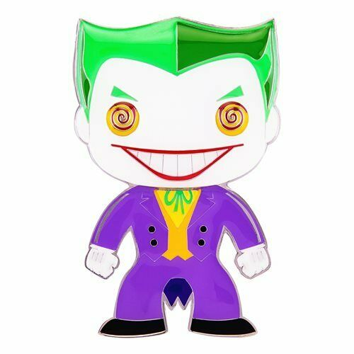 IN STOCK! DC Classic JOKER Large Enamel Pin by Funko