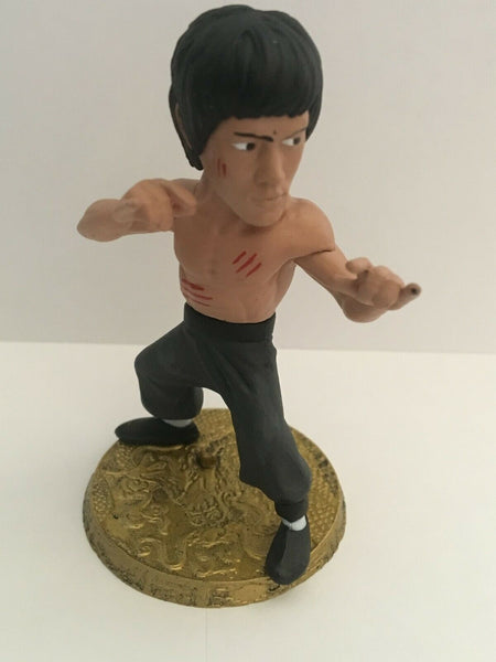 "D-Formz Bruce Lee 3"" Shirtless with Bloody Chest Vinyl Figure"