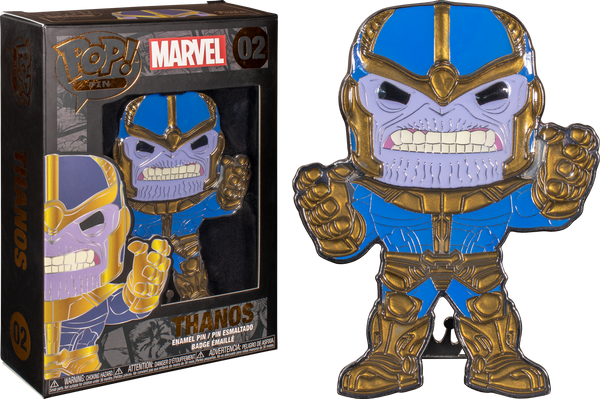 Marvel THANOS Large Enamel Pop! Pin by Funko