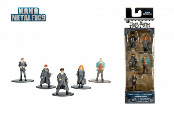 "HARRY POTTER Nano Metalfigs Die-Cast Mini-Figures 5-Pack PACKAGE ""A"""