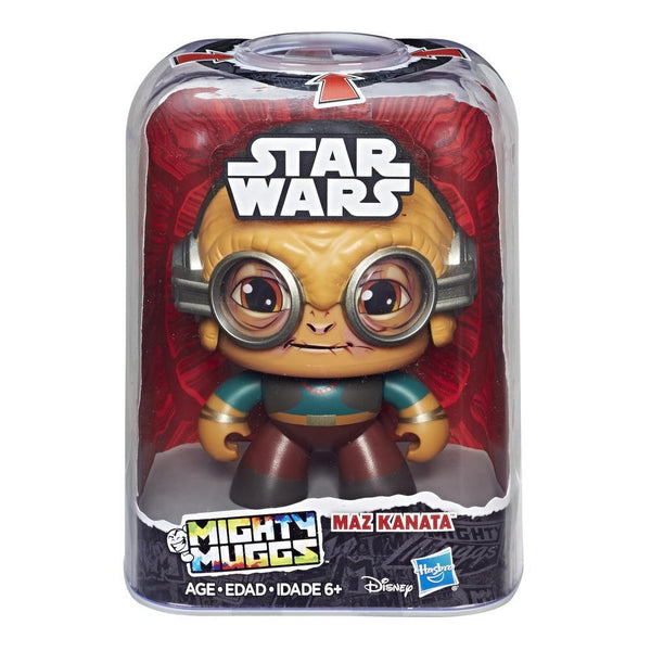 PRE ORDER! Disney Star Wars Mighty Muggs MAZ KANATA by Hasbro