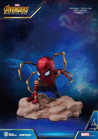 Beast Kingdom Marvel Avengers Q Iron Spider Infinity War 3 Inch Mini Statue Egg Attack - 219 Collectibles
